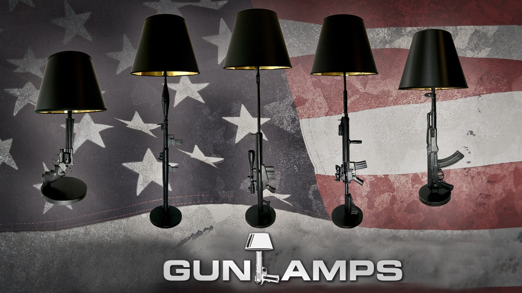 GunLamps USA | Badass lamps for badass people project video thumbnail