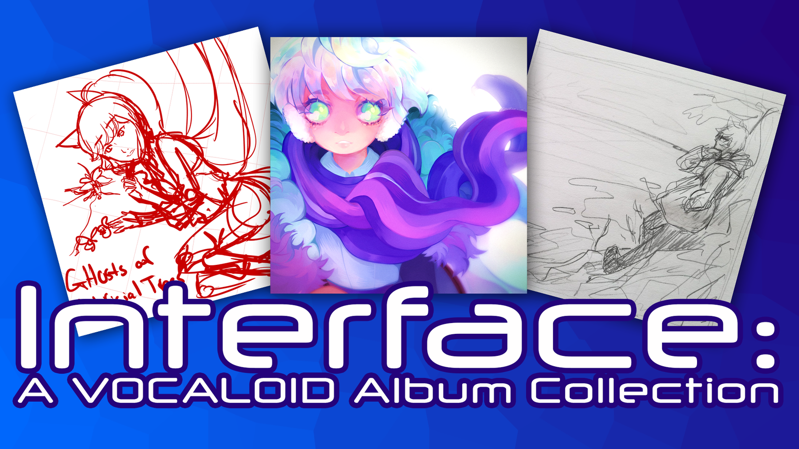 A collection of VOCALOID albums by nostraightanswer, Circus-P, and EmpathP.