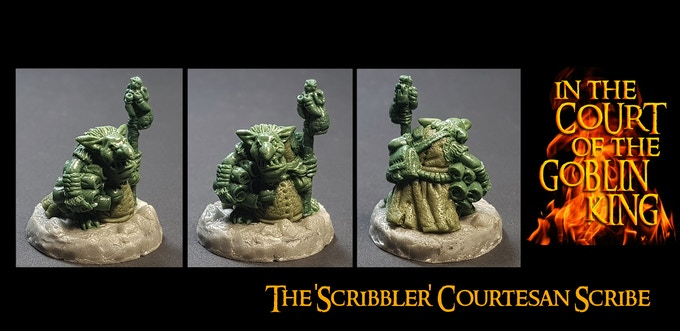 The Scribbler (Courtesan Scribe) Add-on