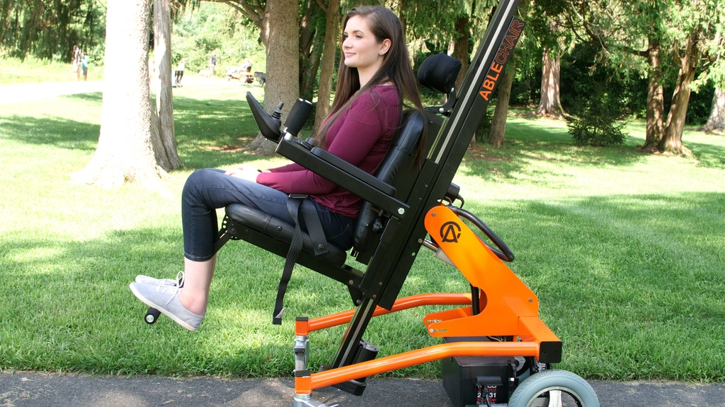 AbleChair - The most versatile wheelchair on the planet project video thumbnail