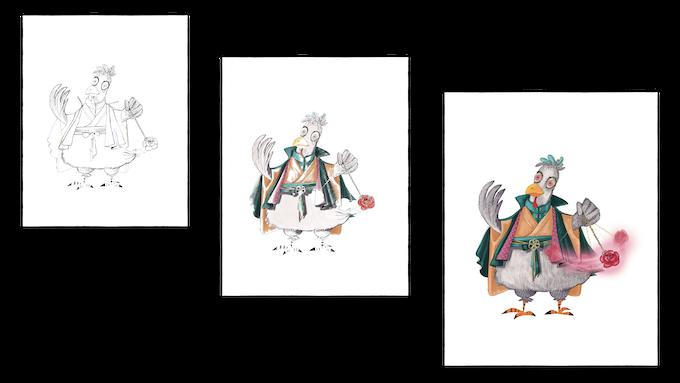 Sketch --> Pencils --> Color