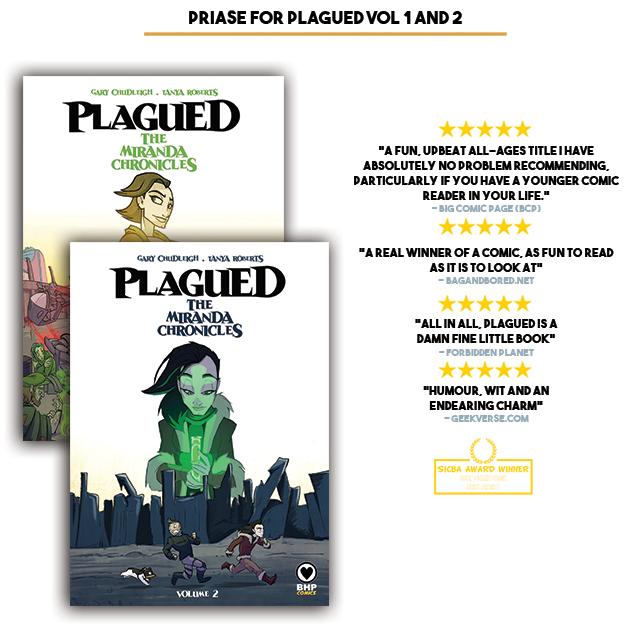 Plagued: The Miranda Chronicles Volume 3 by BHP Comics