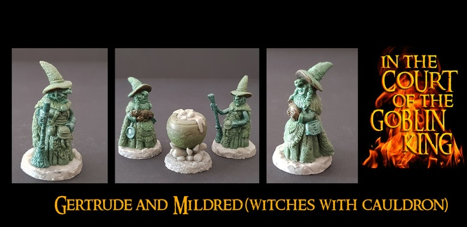 Gertrude and Mildred (The Courtesan Witches) UNLOCKED