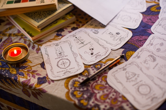 Birth Card Bookmarks Illustrated by Cassandra Bowers