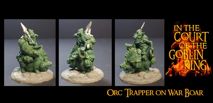 The Orc Trapper (and War Boar) UNLOCKED