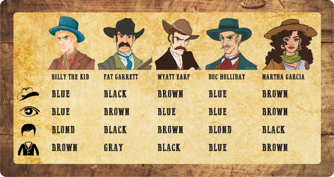 There will be 8 characters in the final version. Get Billy the Kid!