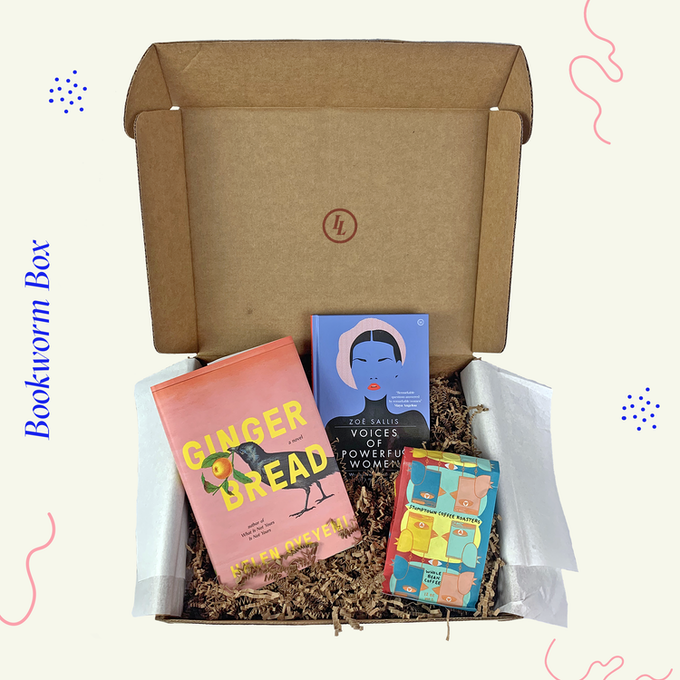 Bookworm Box Mockup
