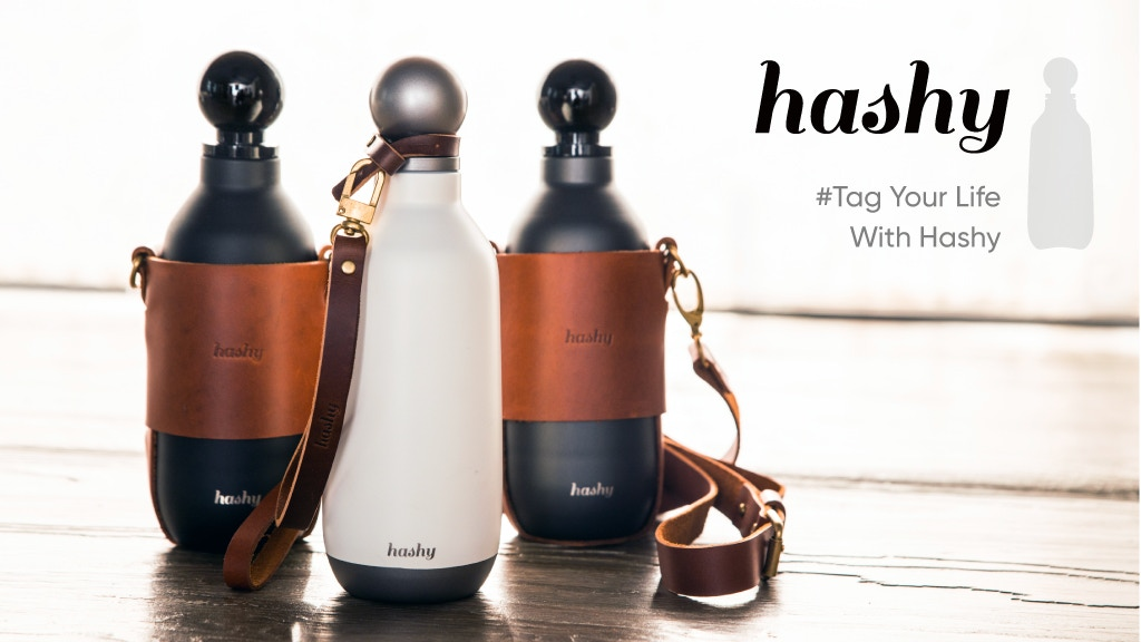 #Hashy Bottle: The Most Elegant & Classic Water Bottle Ever project video thumbnail