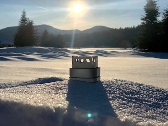 CORE Polar Titanium Micro Alcohol Stove by Chad Mueller