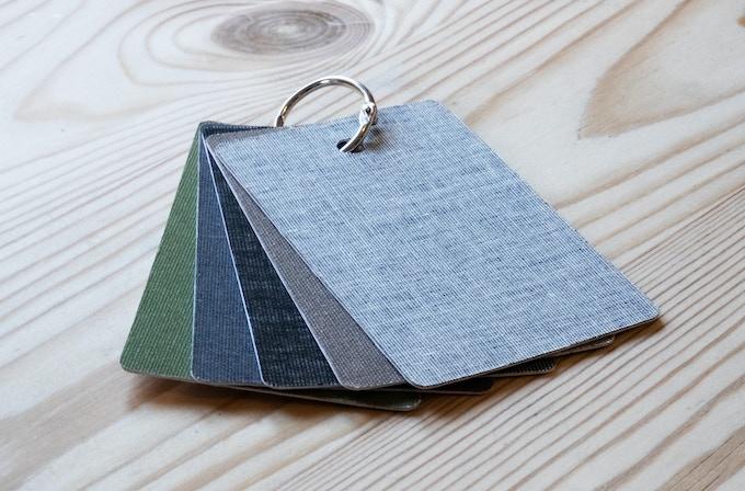 Linen cover colour options