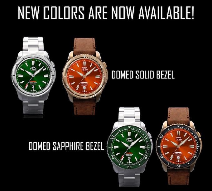 Steel Emerald Green and Bronze Camden Orange