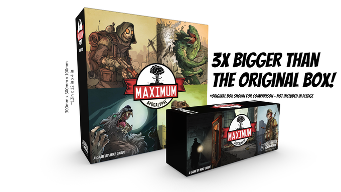 Maximum Apocalypse: Legendary Edition with Miniatures