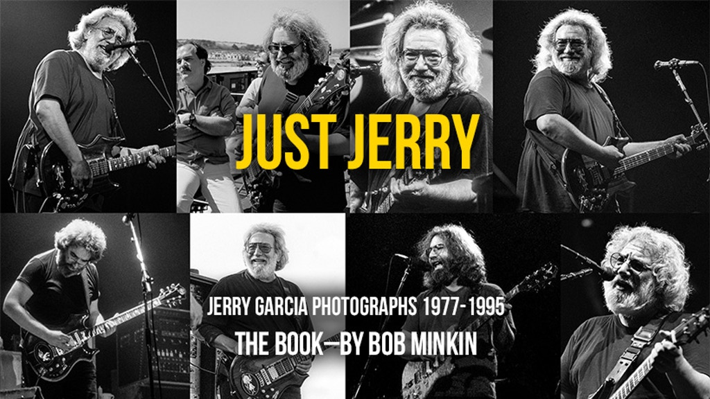 Just Jerry : Jerry Garcia Photographed by Bob Minkin project video thumbnail