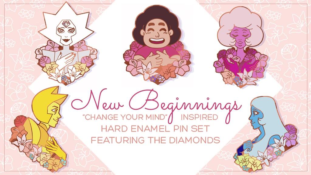 New Beginnings — A Diamond Authority Enamel Pin Set ?