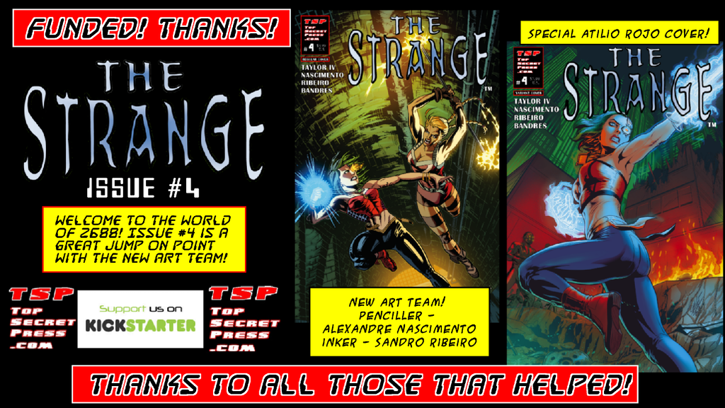 The Strange #4 project video thumbnail