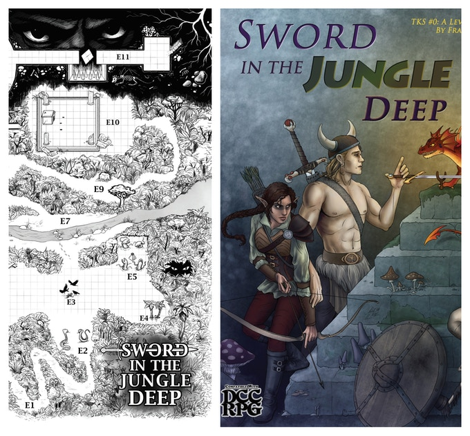 Alena Lane's artwork from Sword in the Jungle Deep