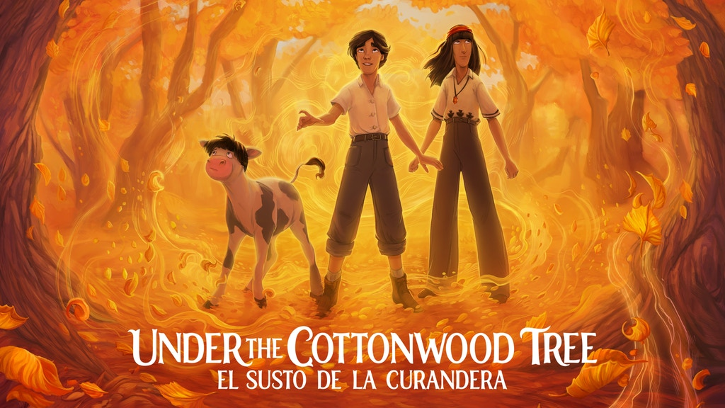 Under the Cottonwood Tree - a Latinx fairy tale adventure project video thumbnail