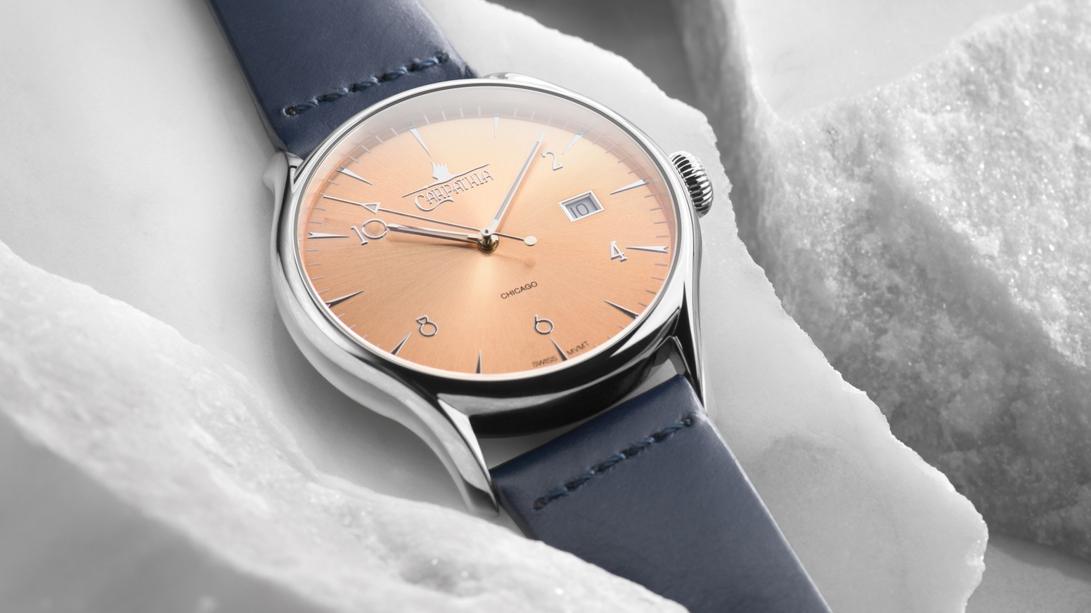 Chicago Inspired Swiss Made Timepieces with Eta 2824-2 Movements