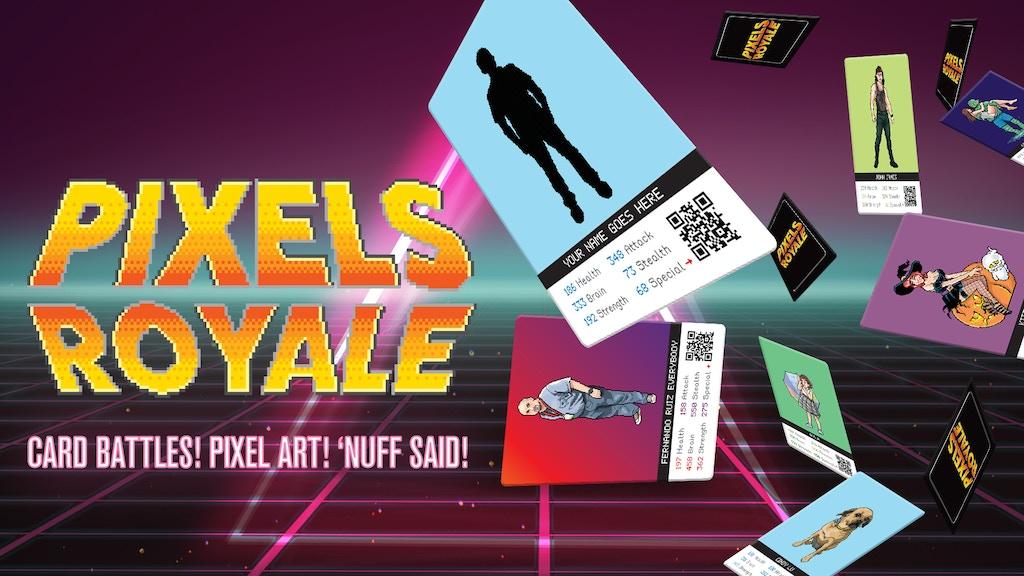 Pixels Royale - Card Battles! Pixel Art! 'Nuff said! by Wagga Studio