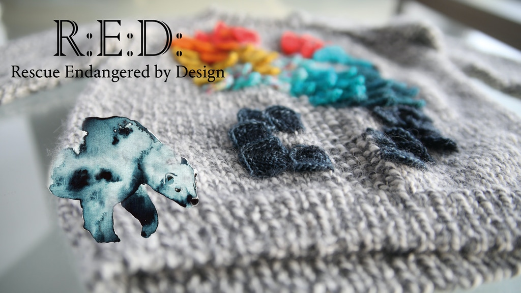 R:E:D: - a knitting book project video thumbnail