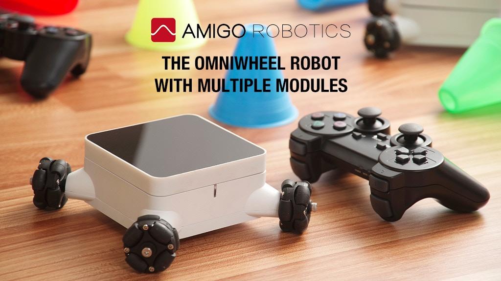 Amigo One-The most fun home modular robot