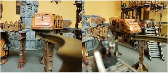 Orlocks ambush Goliath transport train...