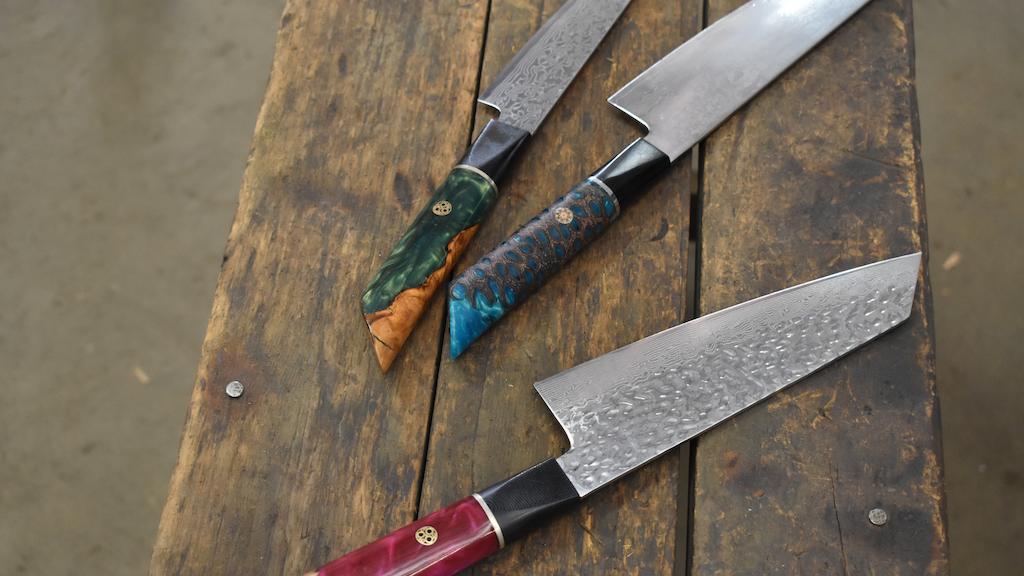 Custom Kitchen Knives - Unique, Rare & Beautiful :) project video thumbnail