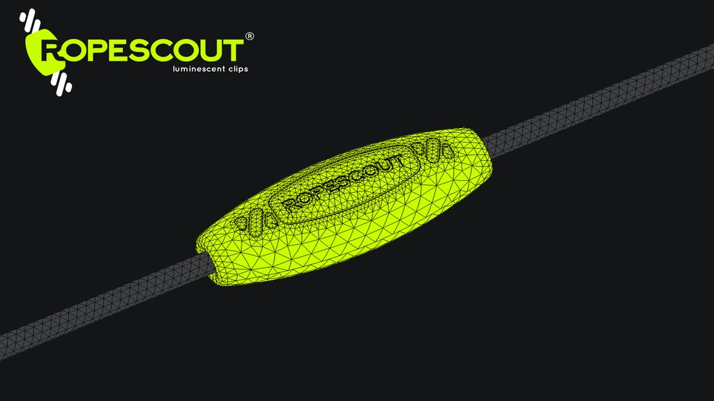 RopeScout - The best way to make ropes visible in the dark.