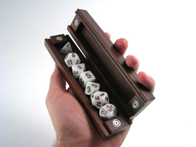 This project is completely fulfilled.  The Dice Vault is now available on our website.