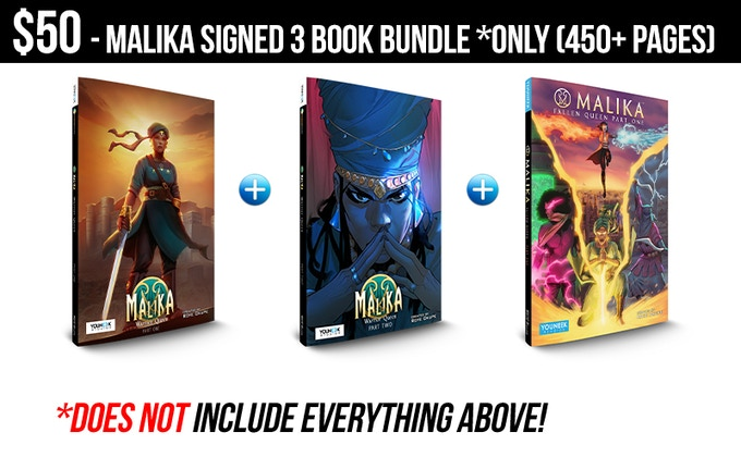 BUT INCLUDES PDF VERSIONS OF EACH GRAPHIC NOVEL