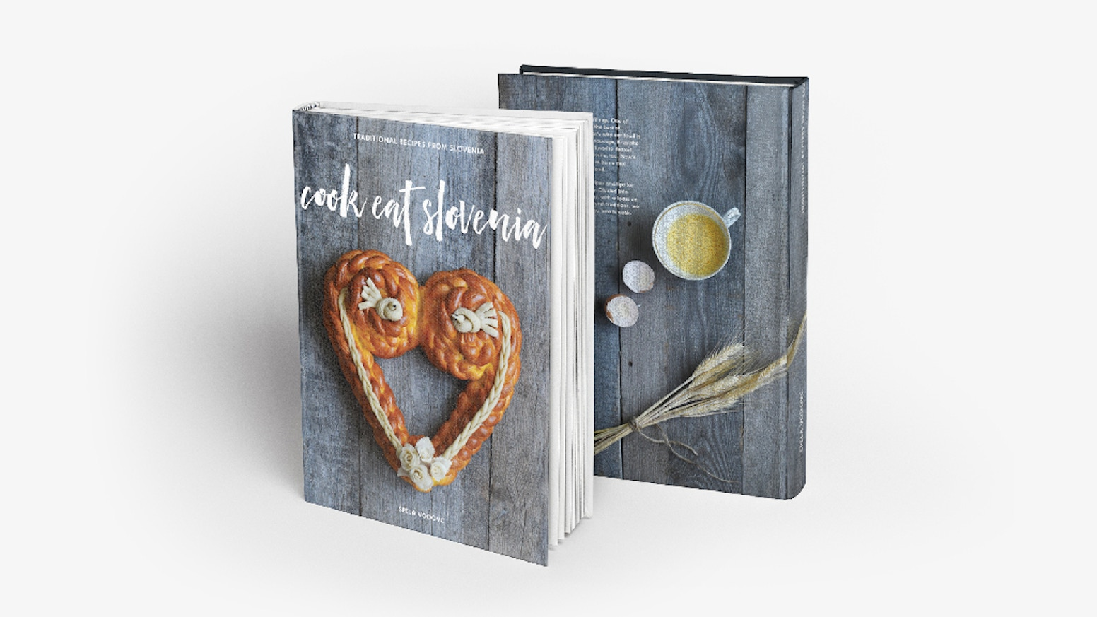 A cookbook that brings traditional Slovenian recipes and family stories to your kitchens worldwide!