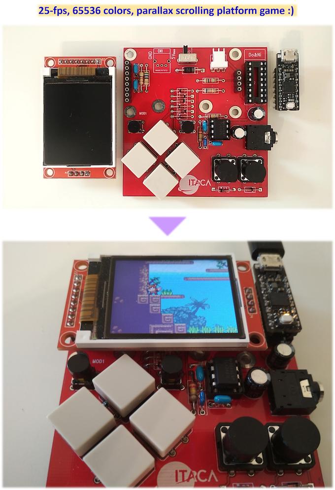 uChip: Arduino Zero compatible in a narrow DIP-16 package! by Itaca