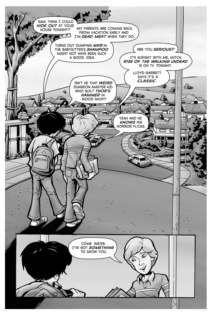 Young and the Dead: No Zombies Allowed Issue 1 Page 3