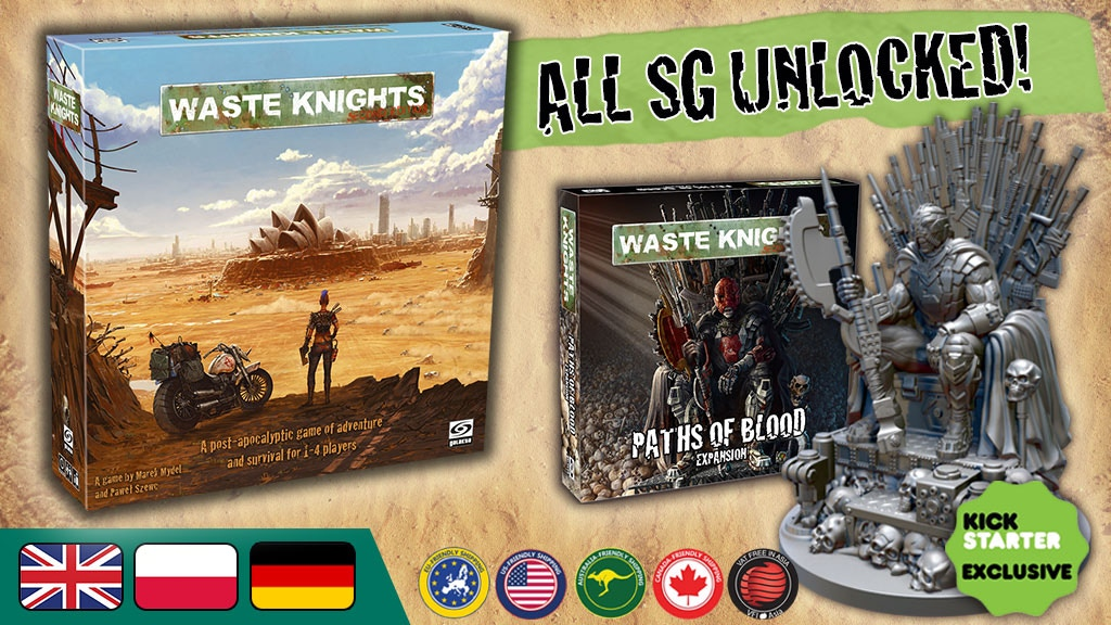 Waste Knights: Second Edition project video thumbnail