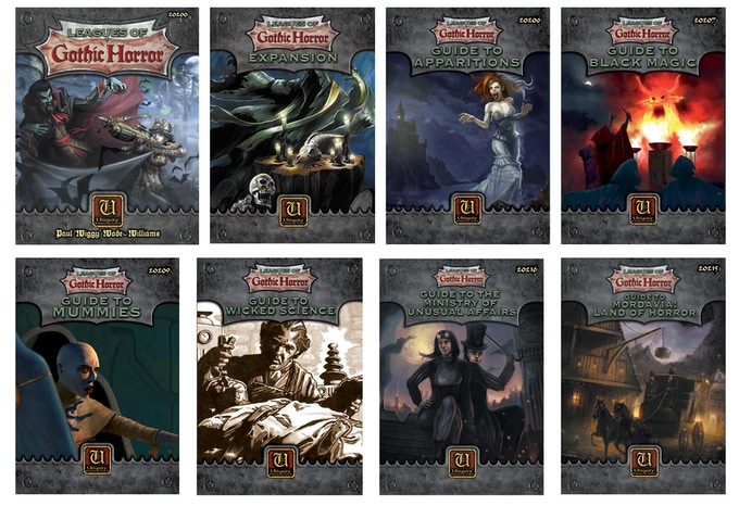 The Leagues of Gothic Horror gristly line up!