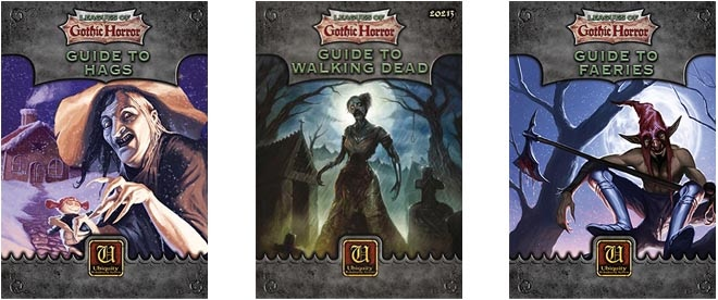 Guide to Hags, Guide to the Walking Dead & Guide to Faeries