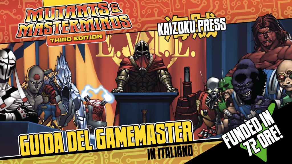 Mutants & Masterminds - Guida del Gamemaster project video thumbnail