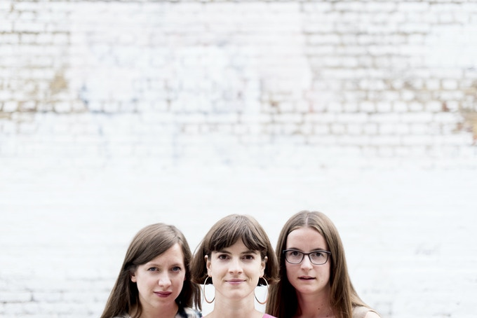 Nora: Stephanie, Flora and Eleanor. Photo by Camilla Greenwell.