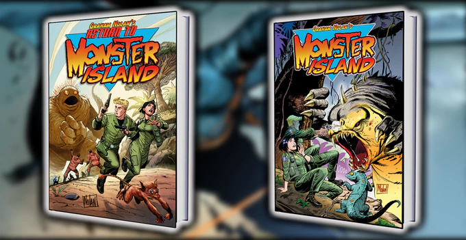 Return to Monster Island and the all new colorized version of the classic Monster Island