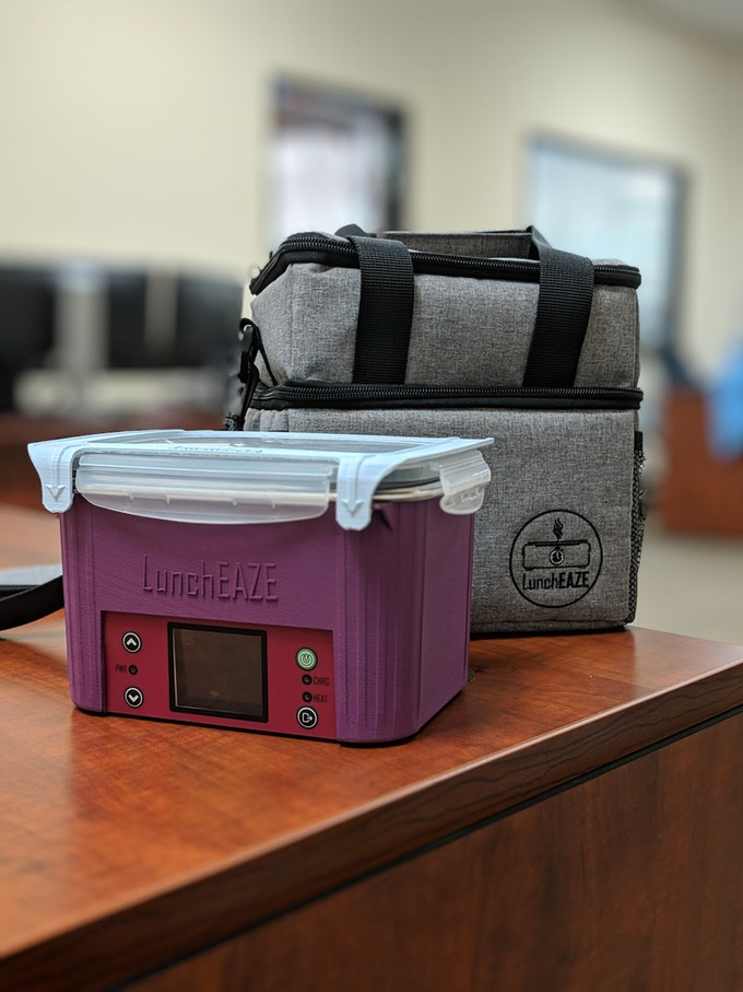 Every LunchEAZE comes with a custom-fitted insulated bag. Check out Campaign Update #2 for details!