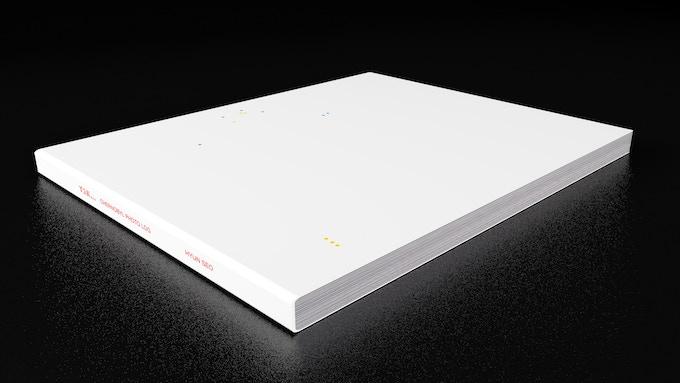 3D rendering of book.