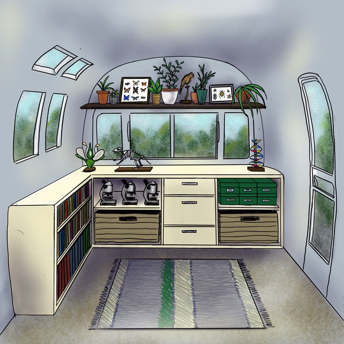 Wild Bus interior mock up 1