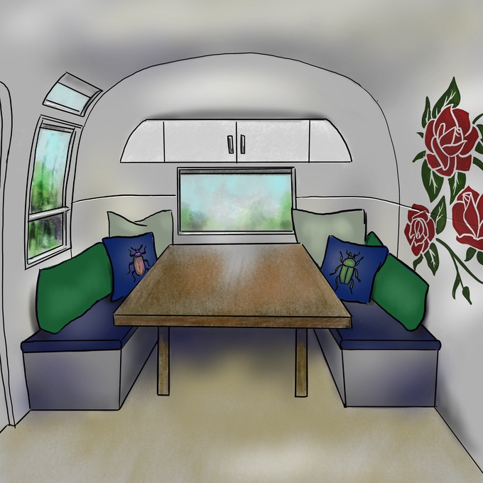 Wild Bus interior mock up 2