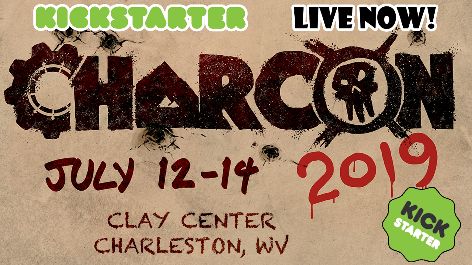 CharCon 2019 - THE West Virginia Gaming Convention by CharCon Game