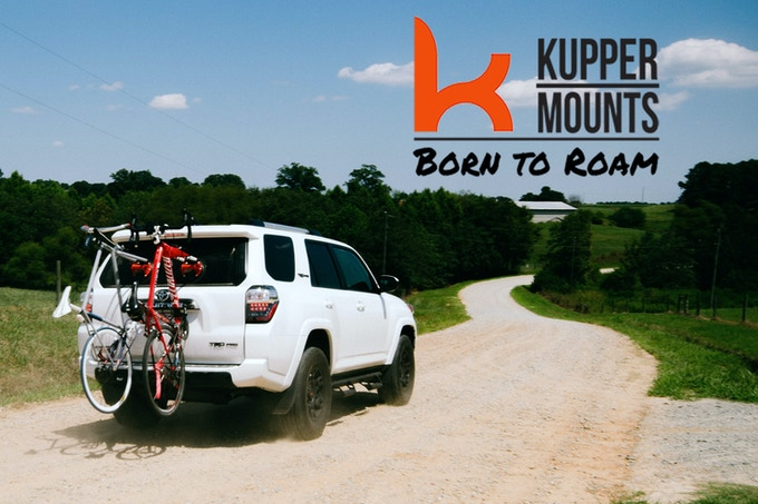 Kupper Mounts Vacuum-Powered, Suction Cup Bike Racks - Perfect for All Kinds of Biking Adventures