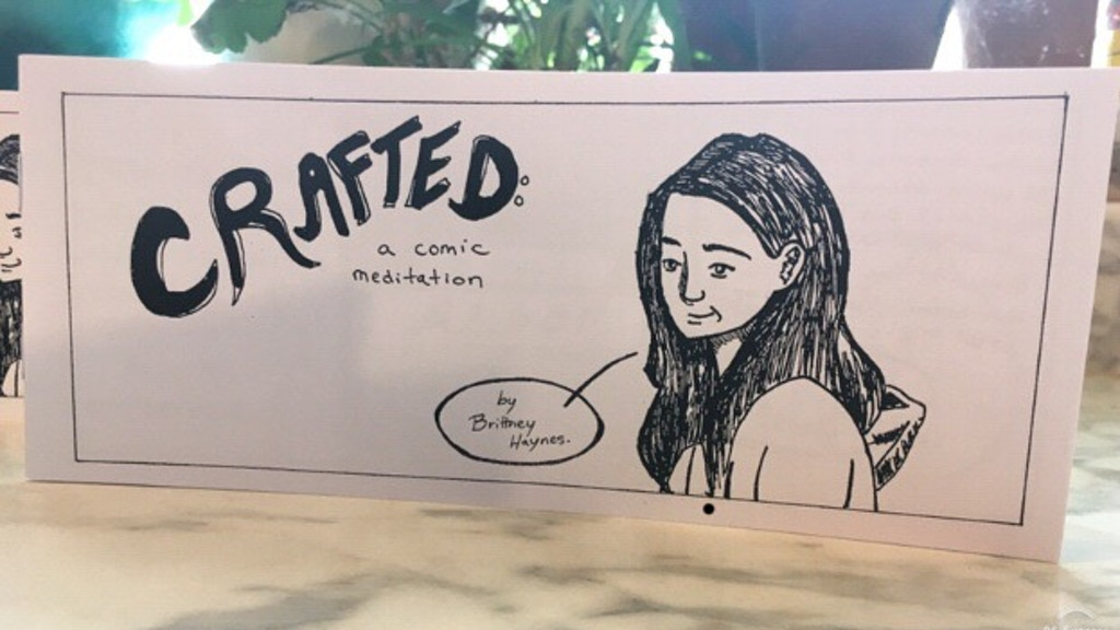 Crafted: A Comic Meditation, An Indie Comic