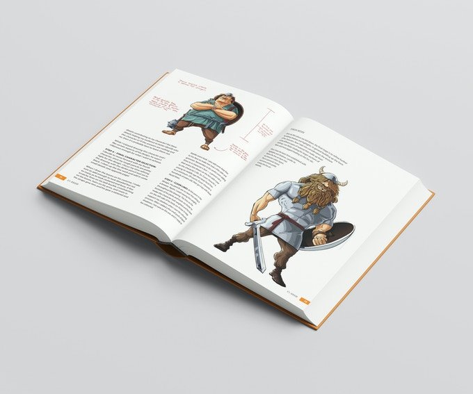 "Design Example - ""Character Archetypes"" Chapter"