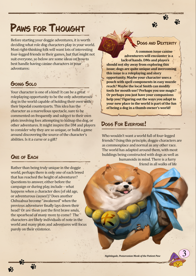 This is a work in progress sample of one of many pages in the rule book! Isn't it beautiful!