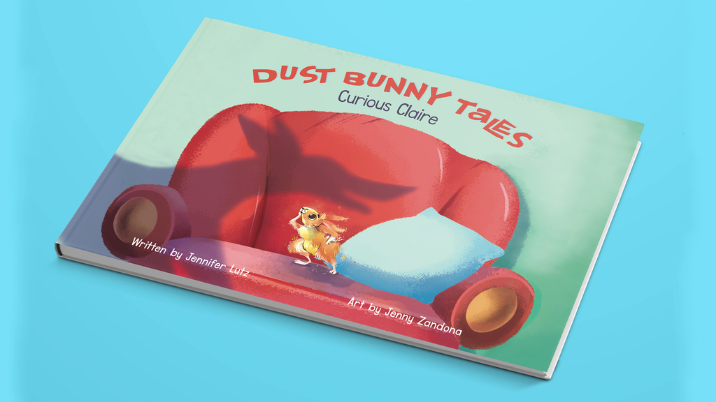 Dust Bunny Tales, Curious Claire Children's Book project video thumbnail