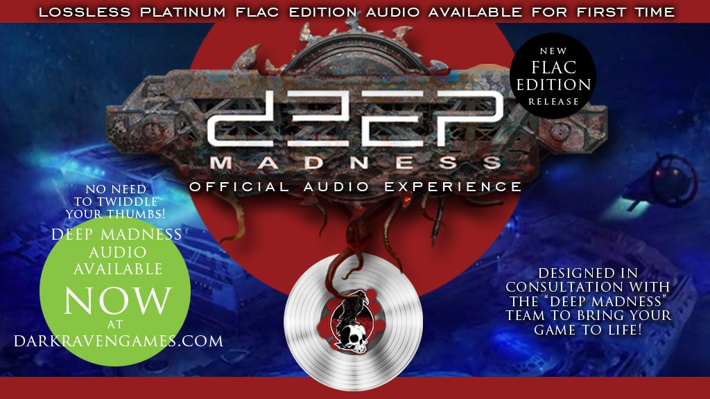 Deep Madness Audio - Platinum Lossless FLAC Edition project video thumbnail